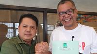 Gubernur Sumbar Irwan Prayitno mendukung Riza Falepi maju dalam Pilkada Sumbar. (Istimewa)