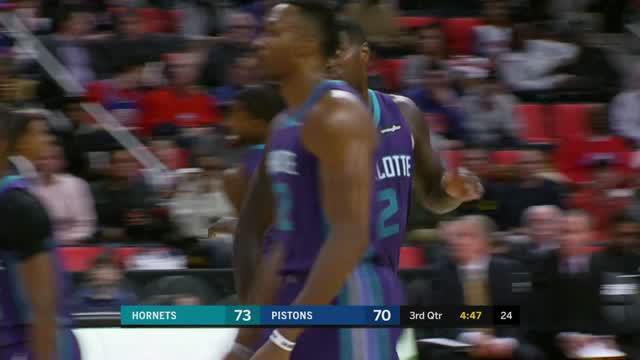 Berita video game recap NBA 2017-2018 antara Charlotte Hornets melawan Detroit Pistons dengan skor 118-107.