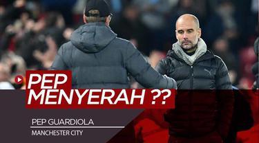 Berita Video Tertinggal Jauh di Premier League, Pep Guardiola Menyerah dari Liverpool ?