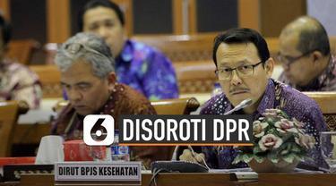 DPR menyoroti besaran insentif direksi BPJS Kesehatan.