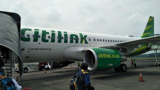 Terbang Perdana Citilink Bawa 92 Penumpang Ke Bandara Baru