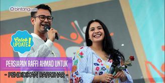 Persiapan Raffi Ahmad untuk masa depan Rafathar Malik Ahmad.