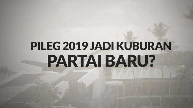 Survei LIPI memprediksi hanya enam partai politik yang bakal masuk ke parlemen 2019. Sementara partai lainnya terancam keluar hingga tak berpeluang masuk DPR.