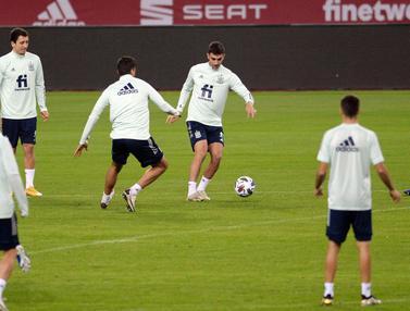 Spanyol Bersiap Jelang Hadapi Jerman di UEFA Nations League