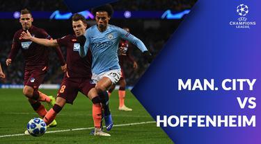 Berita video statistik Manchester City vs Hoffenheim pada marchday ke-6 fase Grup F Liga Champions 2018-2019, Kamis (13/12/2018).