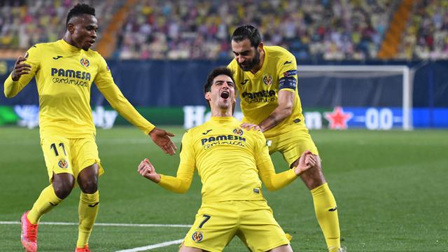 FOTO: Singkirkan Dinamo Zagreb, Unai Emery Bawa Villarreal Jumpa Mantan di Semifinal - Gerard Moreno