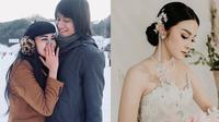 Potret cantiknya Vicy Melanie saat pakai gaun pengantin. (Sumber: Instagram/@vicymelanie)