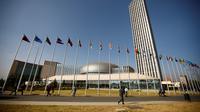 Markas besar Uni Afrika di kota Addis Ababa, Ethiopia - AP