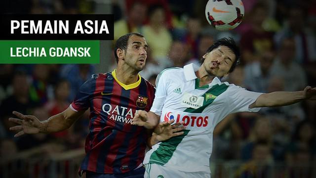 Berita video beberapa fakta soal pemain asia di Lechia Gdansk sebelum Egy Maulana Vikri yang bernama Daisuke Matsui asal Jepang.