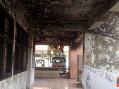 Citizen6,Surabaya: Kondisi kantin UNAIR setelah terbakar pada (2/2) lalu. (Pengirim: Ratih, Kelompok 8)