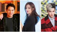 Jet Li, Vicky Zhao, Kris Wu (dari kiri ke kanan). (Instagram/jetli/kriswu/vicki_zhaowei)