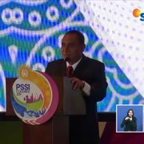 Edy Rahmayadi mundur dari jabatan ketua umum PSSI karena merasa gagal memimpin.