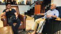 Hengky Kurniawan dan Hatta Rajasa (dok. Instagram @hengkykurniawan/https://www.instagram.com/p/B42NcTYlf7i/Putu Elmira)