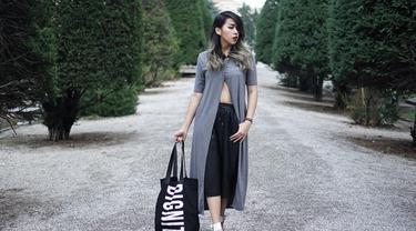 Coba Style Menarik Sekaligus Simpel dengan Sentuhan Abu-abu