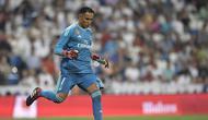 4. Keylor Navas - Kiper Costa Rika yang sudah mencicipi banyak gelar bergengsi bersama Real Madrid. Namun posisinya terseger saat Courtois didatangkan awal musim ini. (AFP/Gabriel Bouys)