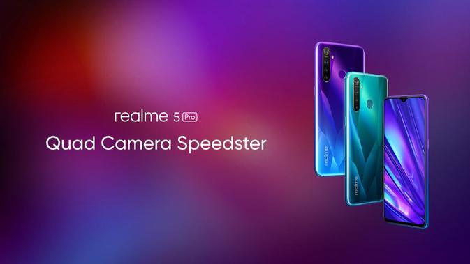 Smartphone dengan Empat Kamera Realme 5 Series Dipastikan Rilis di Indonesia - Liputan6.com