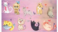 Pilih Satu Gambar Kucing Ini Dapat Ungkap Keterampilanmu dalam Komunikasi (Sumber: Namatest)