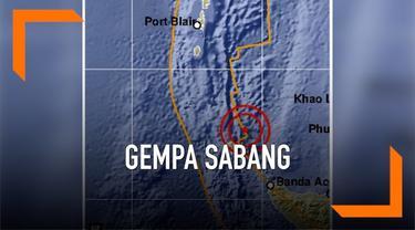 Sabang, Aceh kembali diguncang gempa bermagnitudo 5,4 dalam waktu yang berdekatan. Kali ini, gempa itu terjadi oukul 08.23 WIB.