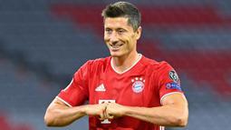 Robert Lewandowski (Bayern Munchen) - Finalis UEFA Men's Player of the Year. (AFP/Tobias Schwarz)