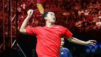 Taufik Hidayat mengkritisi tak berkibarnya Merah Putih saat prosesi penyerahan Piala Thomas kepada tim Indonesia. (Foto: Instagram @taufikhidayatofficial)