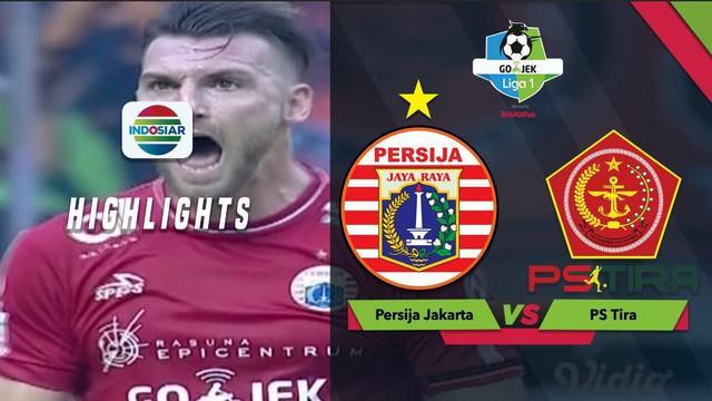 Berita video momen striker Persija Jakarta, Marko Simic, memiliki peluang mencetak gol ke gawang PS Tira dalam lanjutan Gojek Liga 1 2018 bersama Bukalapak, Sabtu (10/11/2018).