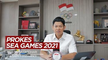 Berita Video Presiden NOC Indonesia, Raja Sapta Oktohari Jelaskan Protokol Kesehatan Untuk SEA Games 2021 Hanoi