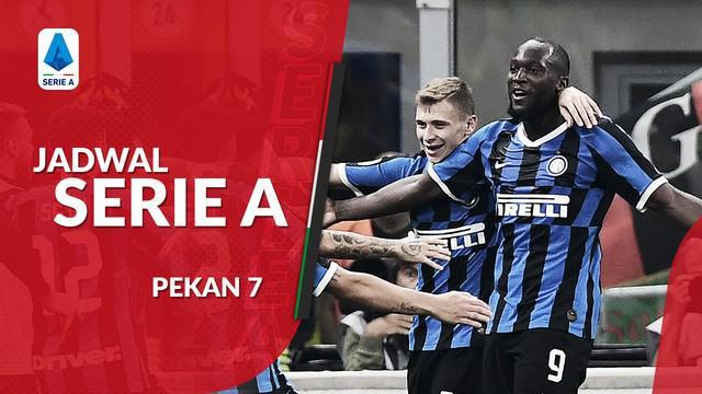 Berita video jadwal Serie A 2019-2020 pekan ke-7. Big match perebutan pemuncak klasemen sementara antara Inter Milan vs Juventus.