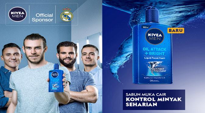 NIVEA MEN senantiasa melindungi dan merawat wajah para pemain Real Madrid.