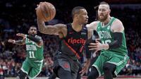 Damian Lillard Bawa Blazers Kalahkan Celtics pada lanjutan NBA (AP)
