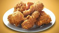 Makanan cepat saji juga menjadi makanan yang banyak diburu usai Ramadan. Ayam goreng biasanya menjadi pilihan utama. (Istimewa)