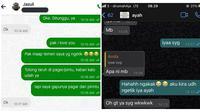 Chat netizen (Sumber: Twitter/biuaf/bbyeex)