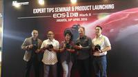 Peluncuran Canon EOS 1D X Mark II di Epicentrum Walk (liputan6.com/Agustinus M. Damar)