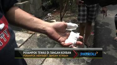 Korban dan pemilik rumah merupakan pensiunan TNI dan memiliki ilmu bela diri.