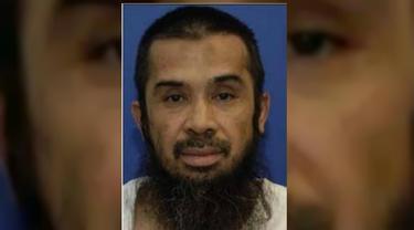 Hambali Tampil Perdana di Persidangan Penjara Guantanmo