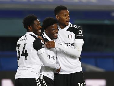 FOTO: Apes, Everton Menyerah 0-2 dari Fulham di Goodison Park