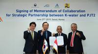 Perjanjian Penanganan Banjir di Jakarta antara Indonesia, Belanda dan Korea. Dok Kementerian PUPR