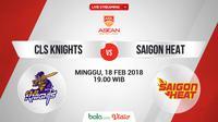 CLS Knights Vs Saigon Heat_2 (Bola.com/Adreanus Titus)