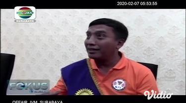 Komisi Penyiaran Indonesia (KPI) meresmikan Gerakan Literasi Sejuta Pemirsa (GLSP) di Aula Lt. 11 Gedung Rektorat Universitas Negeri Surabaya (Unesa) Kampus Lidah Kulon, Surabaya,pada hari Kamis (6/2/2020).