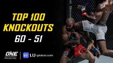 Berita Video Top 100 Knockouts di One Championship, Salah Satunya Aksi Amir Khan Vs Jaroslav Jartim