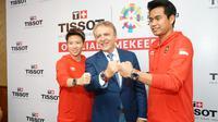 Berikut empat koleksi terbatas dari Tissot untuk Asian Games 2018. (Foto: Dok. Tissot)