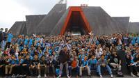Peserta SMK dari seluruh Indonesia yang mengikuti LKS SMK tingkat nasional di Yogyakarta/Stella Maris.