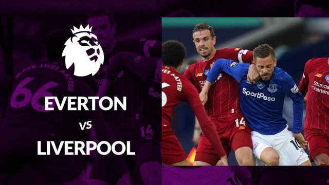 Berita motion grafis statistik Everton vs Liverpool pada lanjutan Premier League 2019-2020 pekan ke-30, Senin (22/6/2020).