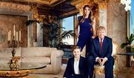 Setiap ruangan memiliki unsur emas, ini dia sudut mewah rumah Donald Trump. (via: myfirstclasslife.com).