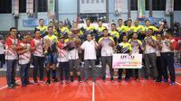Ketua Umum PP PBVSI, Imam Soedjarwo memuji penyelenggaraan Liga voli (Livoli) Divisi Utama 2019 (Istimewa)