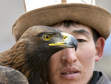 Festival Berburu Pemburu Elang Kyrgyzstan