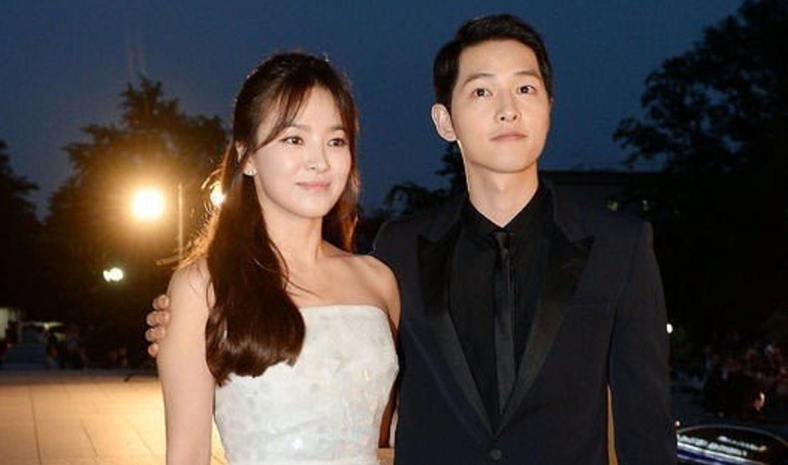 Song Hye Kyo dan Song Joong Ki (Naver)