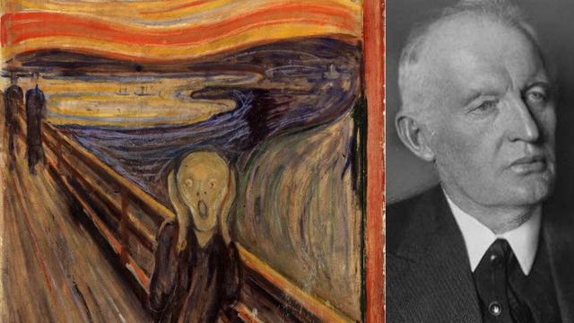 12 2 1994 Lukisan Terkenal Edvard Munch The Scream Dicuri Di