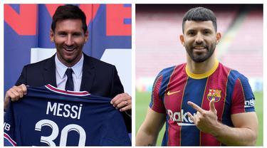 Bursa transfer musim ini diramaikan dengan perpindahan beberapa pemain elite Eropa dengan status bebas transfer atau gratis. Yang paling menyita perhatian tentunya Lionel Messi. Jika dikumpulkan, para pemain tersebut dapat membentuk sebuah starting XI jempolan. (Foto: Kolase AFP)