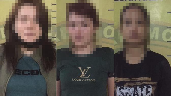 Lagi Asik Nyabu di Rumah Sewa, 3 Wanita Digerebek Polisi
