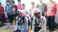 Ilustrasi – Dua pria Kebumen yang berangkat haji bersepeda ontel sudah kembali ke kampung halaman lantaran gagal memperoleh visa di Batam. (Foto: Liputan6.com/Facebook/Muhamad Ridlo)